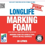 Pink Longlife Marking Foam