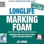 White Longlife Marking Foam